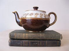 Vintage Sadler Brown Betty Teapot English One Cup by Suite22, $25.00