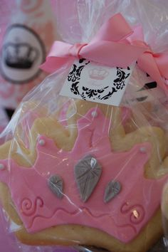 Princess cookies favors