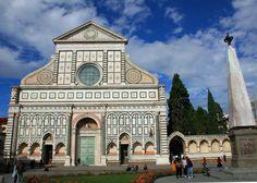 Basilica of Santa Maria Novella, Florence Copyright @ TheDaydreamingTourist www.thedaydreamingtourist.com