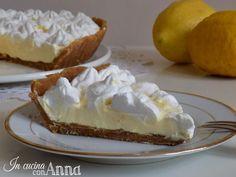 Cold lemon tart - Crostata fredda al limone - golosissima e senza forno