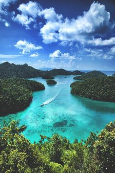 River Heading out to Sea at the Coast of Fiji Travel Gurus - Follow for more Nature Photographies!
