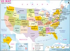 USA Latitude And Longitude Map Free Printable ESL Tutoring Tools - Us map latitude