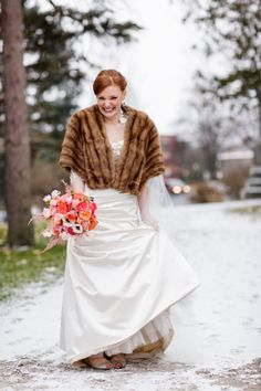 if we get married in winter for some reason, i want a stole!