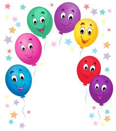 Balloons Cartoon Decoration PNG Clipart Picture