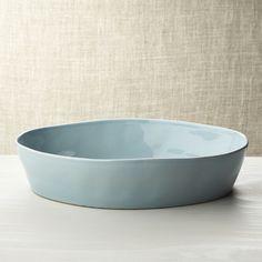 """Marin Blue Oval 10""""""""x13.75"""""""" Baking Dish"""