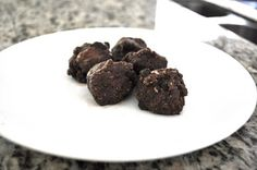 no-bake vegan brownie batter bites