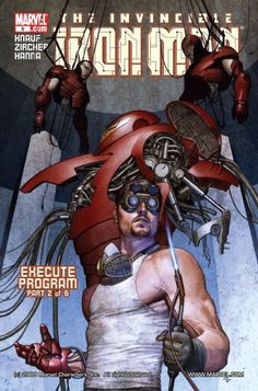 Tony Stark at work by Adi Granov (Iron Man cover) Comic Movies, Comic Book Characters, Marvel Characters, Comic Character, Comic Books Art, Comic Art, Iron Man Comic Books, Hq Marvel, Marvel Comics Art
