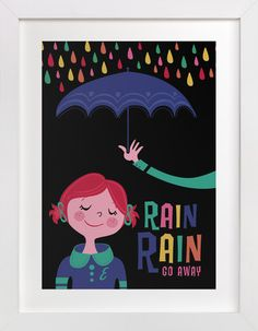 Rainy Day by Pistols at minted.com