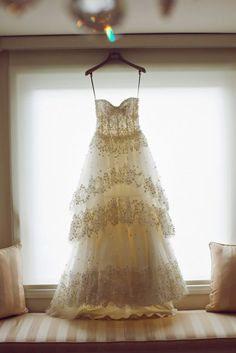 Fancy That!                                               Monique Lhuillier Wedding Gown