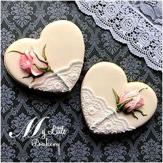 Valentine's Day cookies by Nadia Kalinichenko