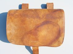 Confederate gunners pouch manufactured by J Darrow, Augusta, Ga.
