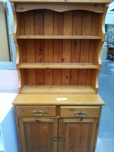 Its Pine Fest at the Emmaus Brighton superstore tomorrow #Welsh dresser