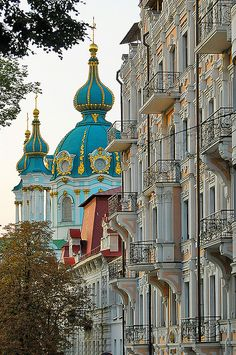 Kiev, Ukraine (by S. Lo) // Agh! How will I ever be able to decide where NOT to travel to! All the countries I keep forgetting about keep having these beautiful things!