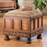 Found it at Wayfair - Medieval Strong Box Ottoman