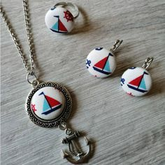vitorlás szett Pendant Necklace, Jewelry, Jewlery, Jewerly, Schmuck, Jewels, Jewelery, Drop Necklace, Fine Jewelry