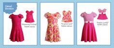 Pretty Spring Dollie & Me Dresses   shop on www.dollieme.com