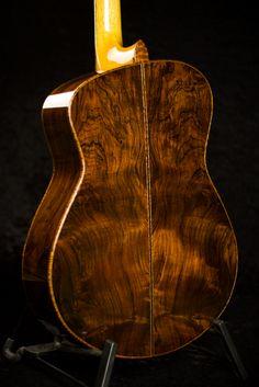 Handmade acoustic guitar - Rosweood Back - Tom Bills Genesis G2s Acoustic Guitar