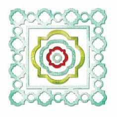 Sizzix Stanzer Thinlits  - Frames, Ornate Moroccan