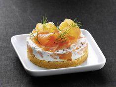 Cheesecake au saumon fumé - Recettes