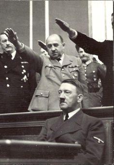 The salute for Hitler