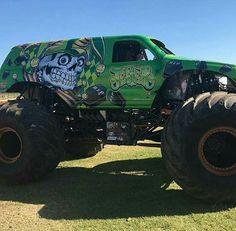 Jester Monster Jam, Monster Trucks, Bigfoot, 4x4, Monsters, Racing, Rock, Cars, School