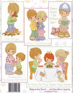 www.gloria-pat.com   Precious MomentsTM PM64  Love, Family and Friends  Retails: $12.50