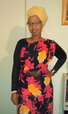 """Somali one shoulder dress""""guntiino"""""""