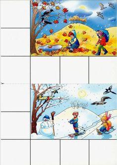 Frogs Preschool, Preschool Weather, Fall Preschool Activities, Seasons Activities, Book Activities, Rainy Season Pictures, File Folder Games, Weather Seasons, Winter Kids