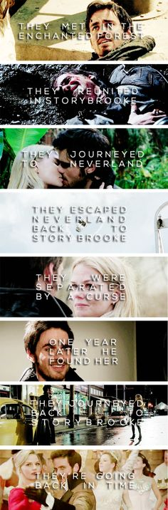 the Captain Swan journey... they have come a long way
