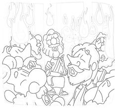 Free Pentecost Coloring Pages for Kids