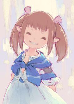 Final Fantasy 14 Online, Final Fantasy Artwork, Final Fantasy Xiv, Character Inspiration, Character Art, Character Design, Kawaii Art, Anime Chibi, Anime Art Girl