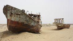 Cómo crear un desierto en medio siglo: La trágica historia del Mar de Aral