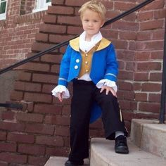 The Beast Prince boys set custom size 2T to 7/8 is comfortable washable and oh so cute for fans of Beauty and the Beast