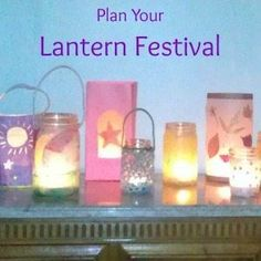 Fall is here and it's time for a lantern walk! Plan a Lantern Festival for your family with these resources to make lanterns and learn verses & sonsgs.