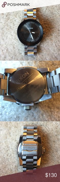 Nixon, The Corporal, Stainless Steel The Corporal style, Stainless Steel, 100m Nixon Accessories Watches