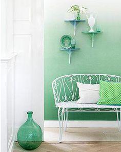degradado en muros colores