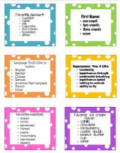 I Love 2 Teach: Creative Ways to Line Up Your Class {Freebie}