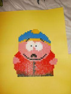 Eric Cartman hama perler by creations-differente - skyrock