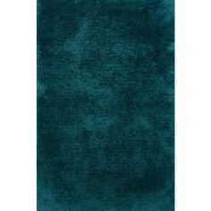 """Oriental Weavers Sphinx Cosmo Shag 81104 Teal Teal 3' 3"""" 5' 3"""" Area... (£98) ❤ liked on Polyvore featuring home, rugs, teal blue rug, handmade rugs, hand made rugs, tufted rugs and teal blue area rug"""