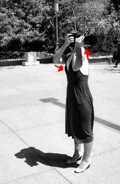 Reduce camera shake: Raise Your Left Shoulder…