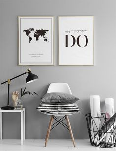 Modern Home Decor Interior Design Decor Room, Living Room Decor, Bedroom Decor, Home Decor, Black And White Posters, Black And White Frames, Minimalist Decor, My New Room, Modern Interior Design