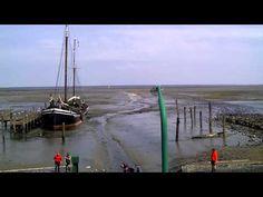 Haven De Cocksdorp Schip bruine vloot - YouTube