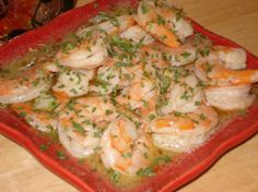Shrimp Chardonnay - I got this recipe years ago from my sister and it's sooooooooo tasty!! I usually serve it with pasta on the side but you could definitely just pour the shrimp/sauce over the pasta.