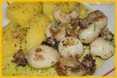 Arroz com canela: Choquinhos fritos à Algarvia