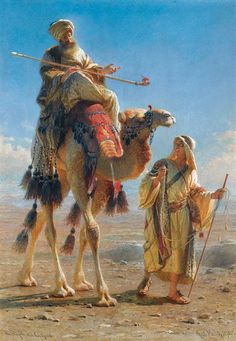Painting by Carl Haag 1820 - 1915 Art Du Monde, Exposition Photo, Art Occidental, Arabian Art, Figurative Kunst, Islamic Paintings, Arabian Nights, Egyptian Art, Fine Art