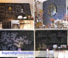 Chalkboard wall inspiration