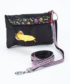 Look at this #zulilyfind! Black Dawggie Go Pack Clutch by Dawgs on the Go #zulilyfinds