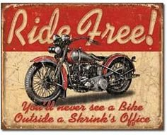 Old vintage motorcycle signsare wanted by collectors who want to a retro sign to hang on their wall.    Antique and vintage signs 50 years ago were more colorful and the graphics more appealing than what we have to choose from today. Motorcycle shops, gas stations and oil companies all had great advertising signs.    Companies seemed to put more thought into making their signage. They used bright colors, brighter graphics, bolder fonts and they used more animals.    Vintage and antique ...
