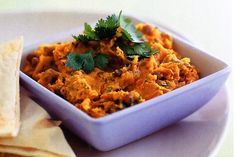 Spiced Pumpkin & Lentil Dip With Naan Bread Recipe