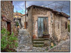 Cyprus, Kakopetria village